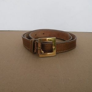 DOLCE AND GABBANA LEATHER BELT